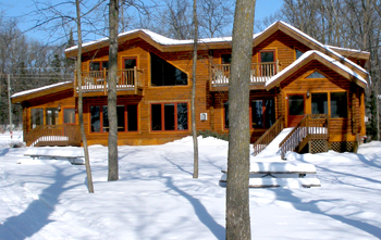 "Luxury Log Homes ""16 and 17"""