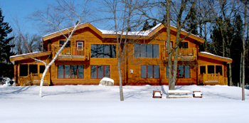"Luxury Log Homes ""2 and 3"""