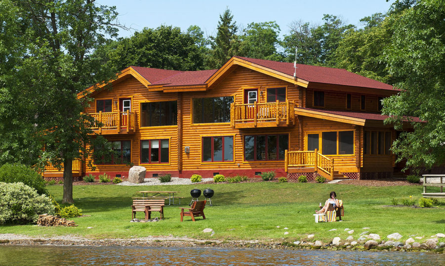 Log Homes 2 & 3 – Brindley's Harbor